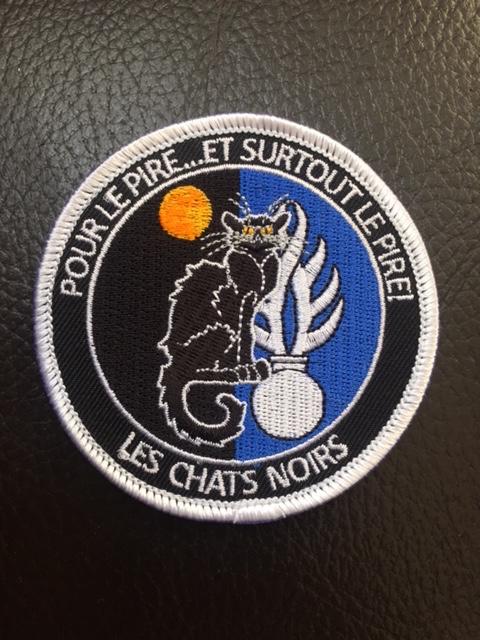 Ecusson Gendarmerie Chat Noir Brod 233 Ecuchatnoir Sportcam Fr T Shirts Techniques Militaires